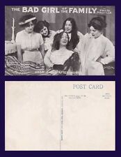 UK LONDON THEATRE THE BAD GIRL OF THE FAMILY BY MELVILLE, SHOP GIRLS AFTER HOURS