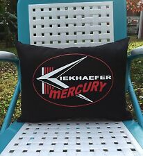 Kiekhaefer Mercury Vintage Style Outboard Motor Pillow Handmade in the USA
