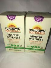 (2 Pack) Sundown Naturals Mindful Wellness - 90 Capsules Each - EXPIRE: 2&6/2020