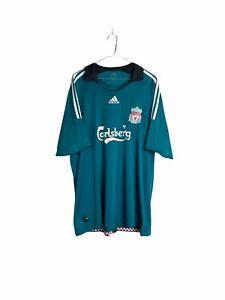 Liverpool Adidas Football Shirt Kit Jersey 2008/2009 Away Mens XL #9 Soccer