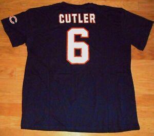 MEN'S SIZE 3XL JAY CUTLER #6 NFL CHICAGO BEARS FOOTBALL SHIRT NWT