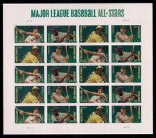 """Major League Baseball All-star"""" Sheet of 20 Forever Stamps Scott 4697"""