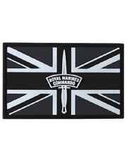 Royal Marines Commando tactical Patch PVC hook and loop fastener ARMY MILITARY