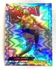 KOBE BRYANT 2018-19 KABOOM Refractor Prizm LA Lakers Sticker ACEO