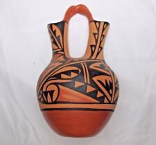 Jemez Pueblo Wedding Vase Made By M Waq Waquiu New Mexico Pottery