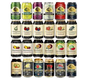 24x CIDER ALLROUND PROBIERSET 0,33l - Frucht - Cider - Dose - Mix - Mischung -