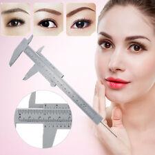 Reusable Makeup Permanent Eyebrow Microblading Measure Tattoo Ruler Micrometer