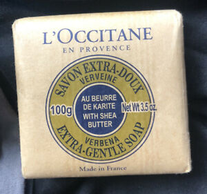 L'Occitane en Provence Verbena Extra Gentle Soap With Shea Butter 100g Unopened