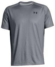 Nwt Under Armour Men's Tech Printed Ss Shirt Gray 2Xl