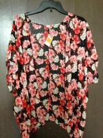 Women's Kimono Cardigan Floral Print / Cover-up - One Size Fits Most