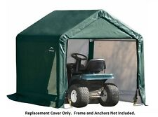 ShelterLogic Replacement Cover for Tractor Supply 6x6x6 Shed 70417 90498