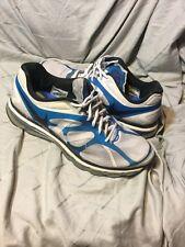 Nike Air Max 2012 + Running Shoes 487982-104 Mens Shoe 12 White/Blue Spark