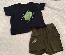Gymboree Baby Boy Outfit Set Size 6-12 Months In Euc (Bin Aj)