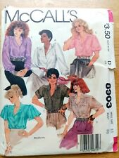 McCall's Vintage Sewing Pattern - Blouses - Size 16 - 1980's - VPM031-8903