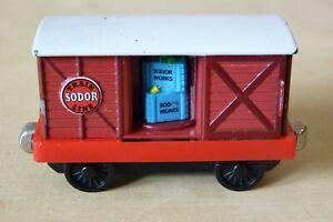 BOX CAR from Brendam Shipping - RARE - VGC - Take n'Play Thomas.