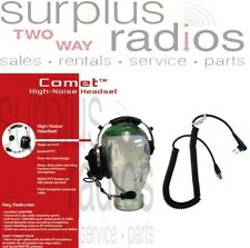 Comet Single Ear Racing Headset Motorola Bpr40 Cp185 Cp200 Cp200D Pr400 P1225