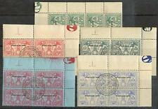 NOUV HEBRIDES 1925 TT 6-10 gest SATZ  130€(D3778