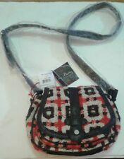 Vera Bradley Mini Saddle Bag Tweed Purse New With Tags