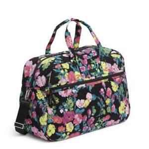 New VERA BRADLEY Grand Traveler Carry On Duffel Bag in HILO MEADOW  $149