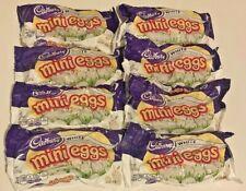 Lot of 8 Bags Exp 02/2021 CADBURY White Chocolate Mini EGGS 9oz