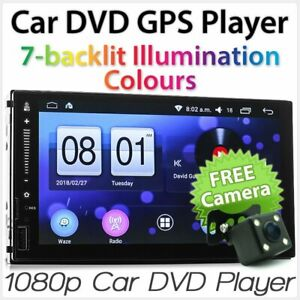 """7"""" Car Android MP3 MP4 Player Universal Double 2 DIN Stereo Head Unit Radio GPS"""
