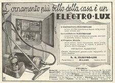 W3752 Frigolux - Aspirapolvere ELECTRO-LUX - Pubblicità 1933 - Advertising