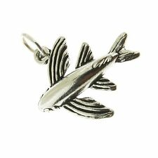 925 Sterling Silver Flying Fish Charm Made in USA