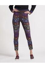 NWT Cynthia Rowley Bonded Floral Leggings Size 4 $245