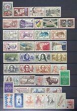 FRANCE ANNÉE COMPLÈTE 1959 N°1189 à N°1229 NEUF** COTE 79 €