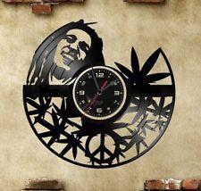 Orologio disco vinil clock orologio da parete cane bob marley