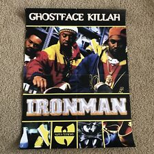 🔴 Wu-Tang Poster Ghostface Killah Iron Man 18x24