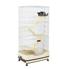 Finley Ranger Cage in Brown - Suitable for Rats & Chinchillas