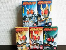 Bandai Masked Kamen Rider Agito G3 Sofubi Figure all 5 Complete set F/S Japan