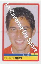 N°058 CARLOS ARIAS # BOLIVIA STICKER PANINI COPA AMERICA VENEZUELA 2007