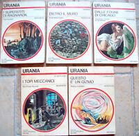 1976 5 ROMANZI URANIA DI LEINSTER, RUSSELL, SABERHAGEN, GODWIN, THOMAS