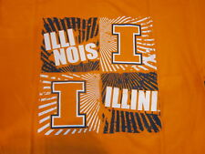 ILLINOIS FIGHTING ILLINI tee t-shirt MEDIUM-NWT