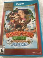 Donkey Kong Country Tropical Freeze (Wii U Nintendo Selects Video Game)