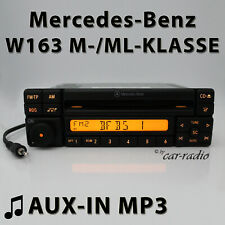 Mercedes Special MF2297 Aux-In MP3 W163 Radio M- ML Class Cd-R 1-DIN Car Radio