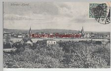 (88513) AK Werder (Havel), Panorama, Marke bildseitig 1922