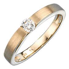 Diamant 18,4 mm) Ø 58 (Echtschmuck aus Gelbgold