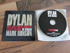 DYLAN MARK RONSON Most Likely You Go 2007 UK / EURO promo acetate CD single