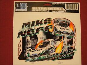 MIKE NEFF JOHN FORCE RACING vintage racing sticker decal