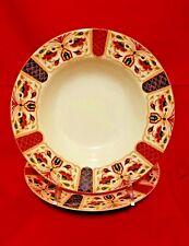 Queen's IMARI Rimmed Soup Bowl Set Of 2