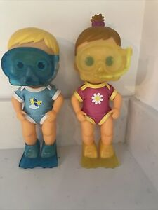 Bloopies Divers Baby Doll X2 Boy Girl