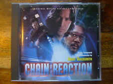 """JERRY GOLDSMITH """"CHAIN REACTION"""" 1st.Pressing Great Action Score OST CD"""