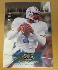 2013 PANINI CERTIFIED #/999 WARREN MOON HOUSTON OILERS MINNESOTA VIKINGS CFL