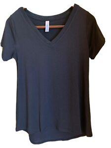 NWT Lularoe Womens size XXS Christy T Shirt Black