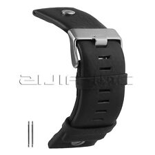 28mm Fashion Watch Straps New Arrival Black Color Genuine Leather Watchband