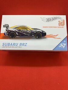 2021 HOT WHEELS ID Subaru BRZ (Series 2) [ZAMAC] (New/Sealed/Mint in Box, VHTF)