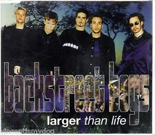 BACKSTREET BOYS - LARGER THAN LIFE (3 track CD single)